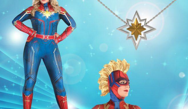Captain Marvel Costume Plus Size