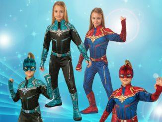 Captain Marvel Costume For Kids