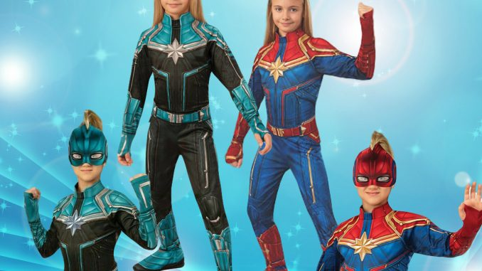 Captain Marvel Costume For Kids With Accessories Captain marvel travels the universe protecting entire galaxies but will always answer a call from her home world, earth. captain marvel costume for kids with